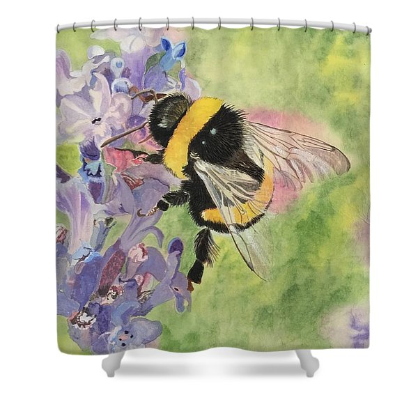 Lavender Visitor Shower Curtain