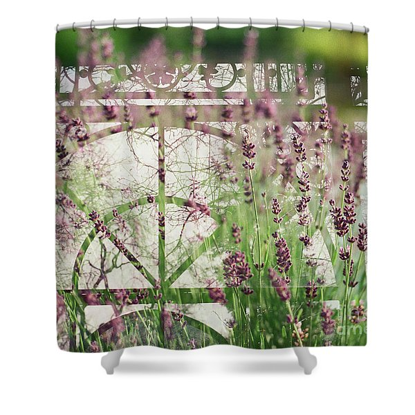 Lavender Whisper Shower Curtain