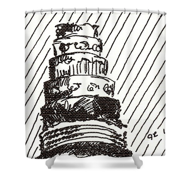 Layer Cake 1 2015 - Aceo Shower Curtain