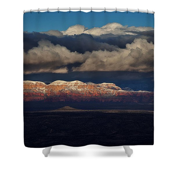 Layered Light Shower Curtain