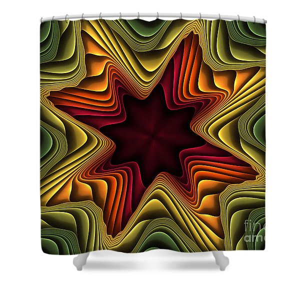 Layers Of Color Shower Curtain