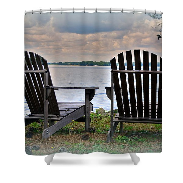 Lazy Afternoon Shower Curtain