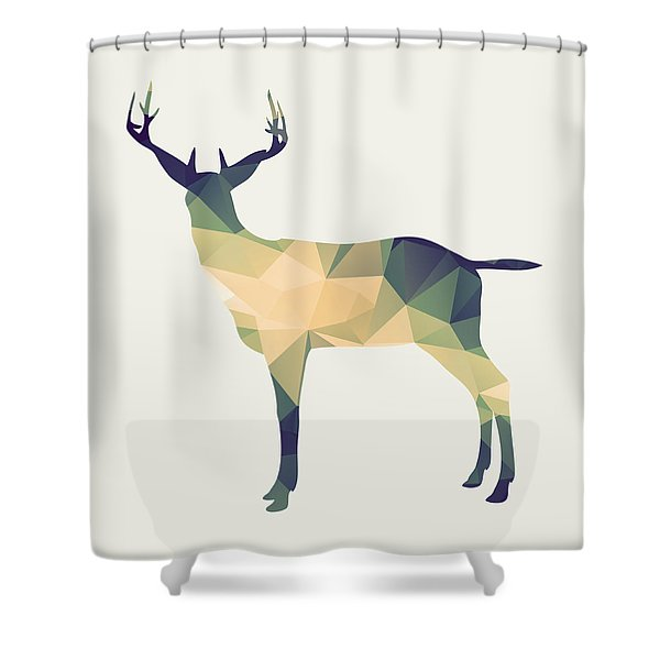 Le Cerf Shower Curtain