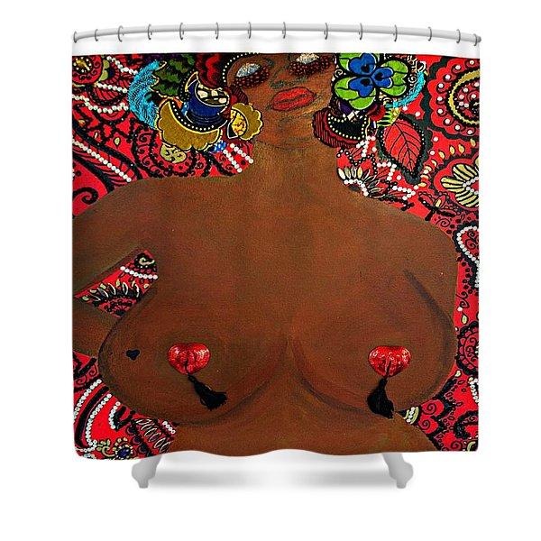 Le Grande Madame Shower Curtain