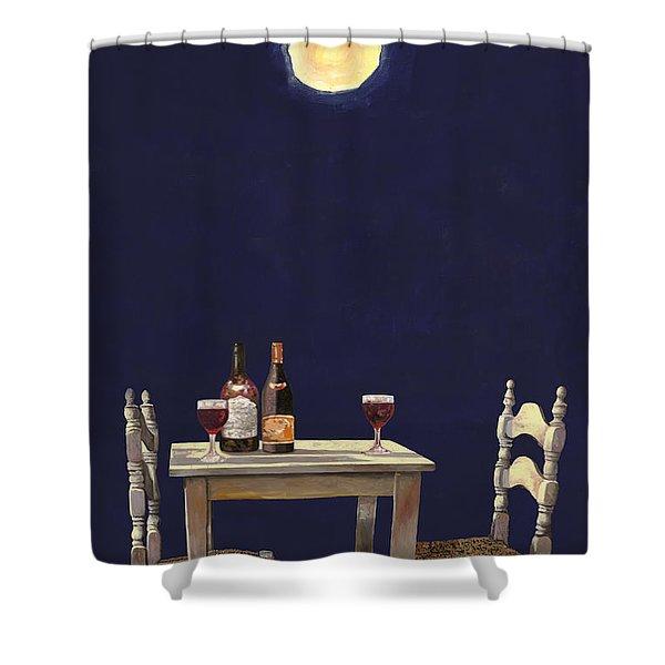 Le Ombre Della Luna Shower Curtain