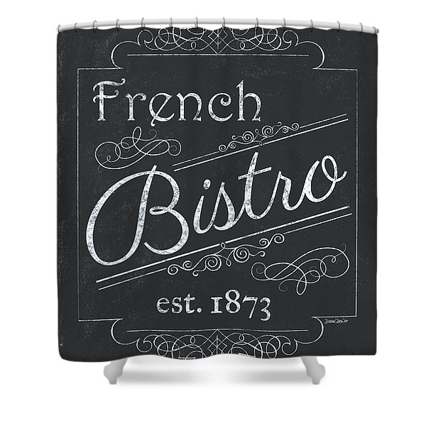 Le Petite Bistro 4 Shower Curtain