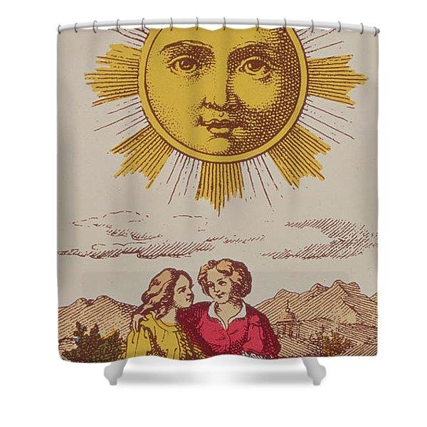 Le Soleil Shower Curtain