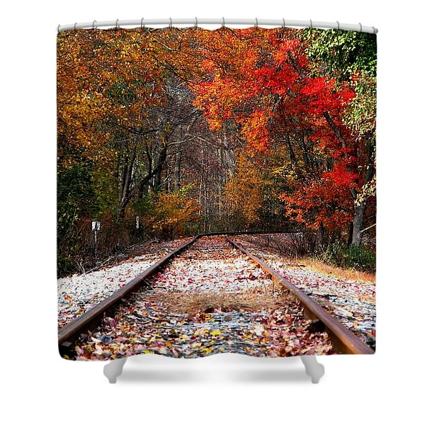 Lead Me Home Shower Curtain