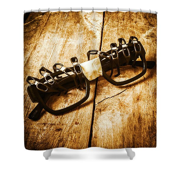 Leadership And Development Shower Curtain