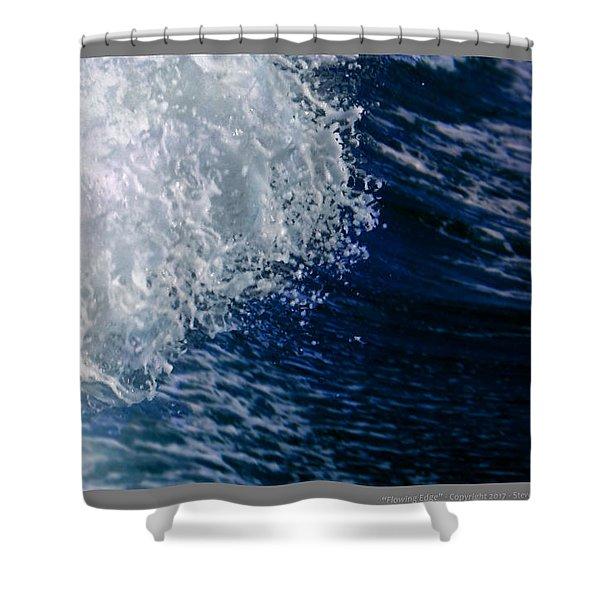 Leading Edge Shower Curtain