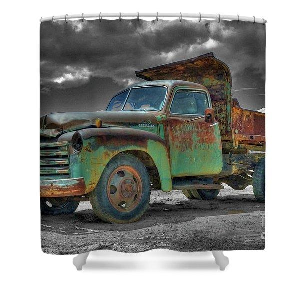 Leadville Coal Company Shower Curtain
