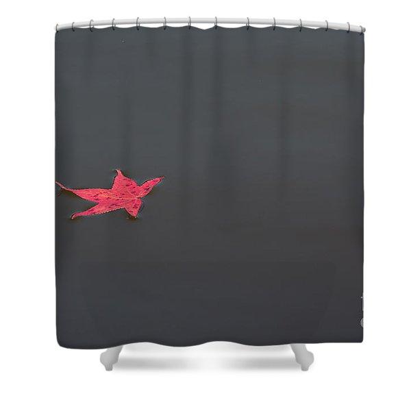 Leaf Alone Shower Curtain