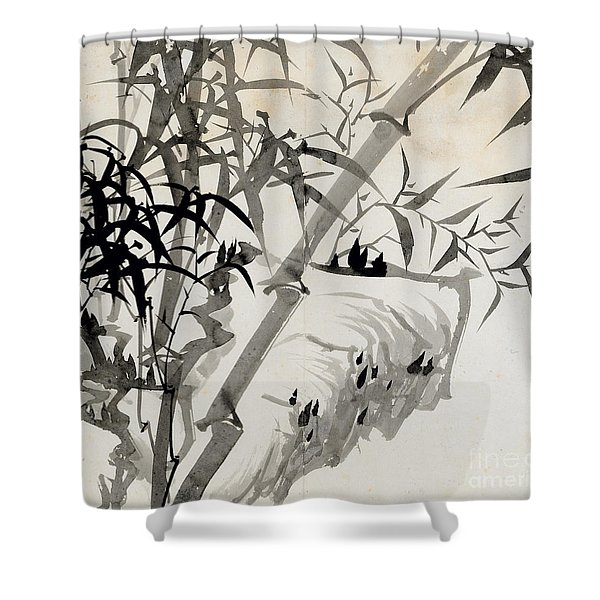 Leaf C Shower Curtain