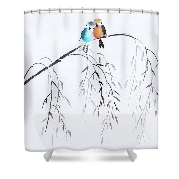 Lean On Me Shower Curtain