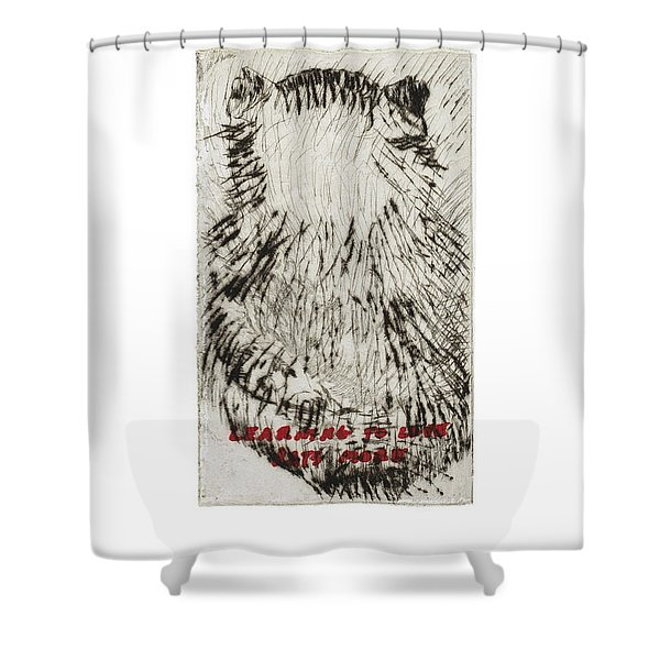 Learning To Love Rats More #3 Shower Curtain