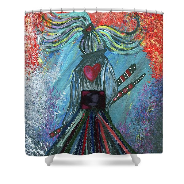 Leave It All Behind Shower Curtain