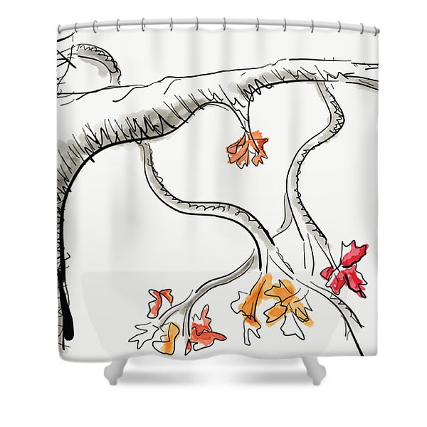 Leave Love Alone 1 Shower Curtain