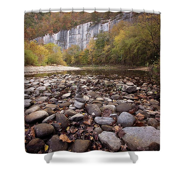 Leave No Trace Shower Curtain
