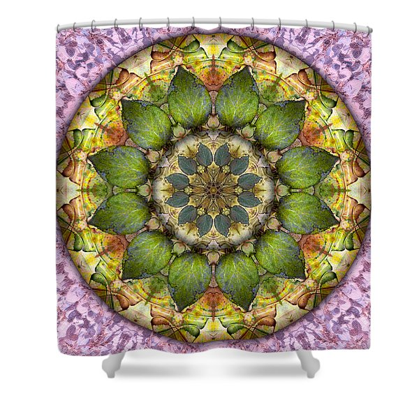 Leaves Of Glass Shower Curtain