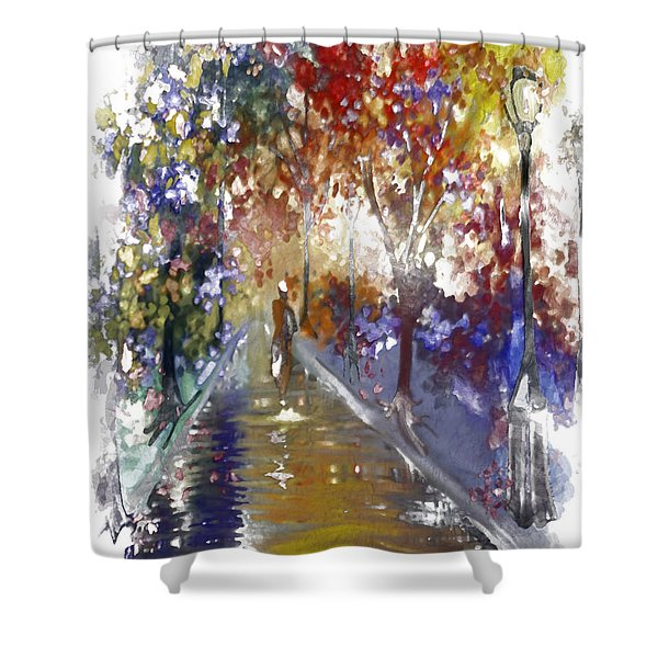 Leaving Alone II Shower Curtain
