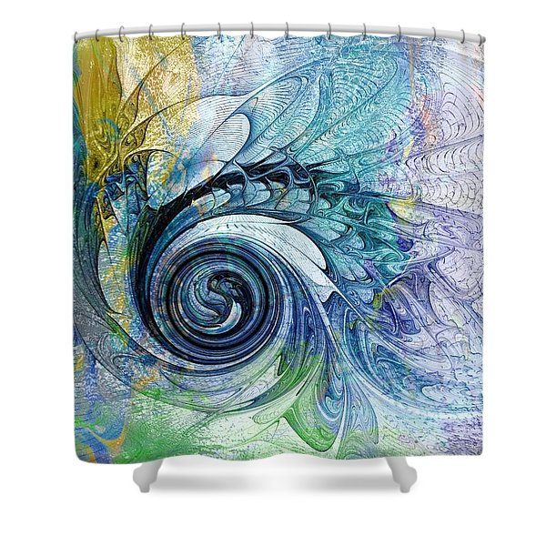 Leaving It All Behind Shower Curtain
