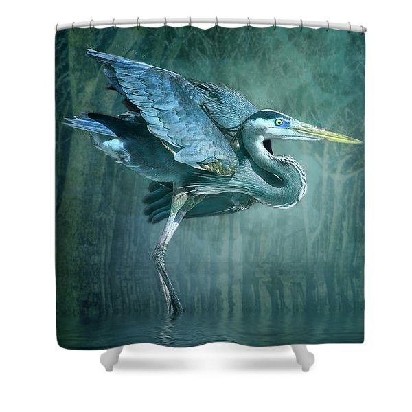 Leaving The Lake Shower Curtain