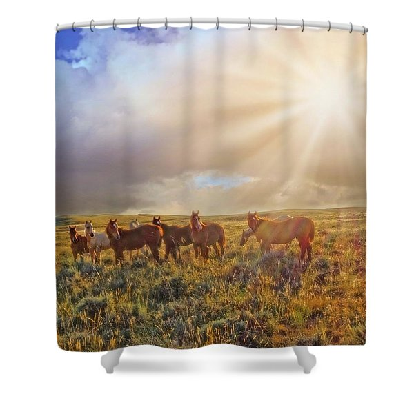 Led By The Light Shower Curtain