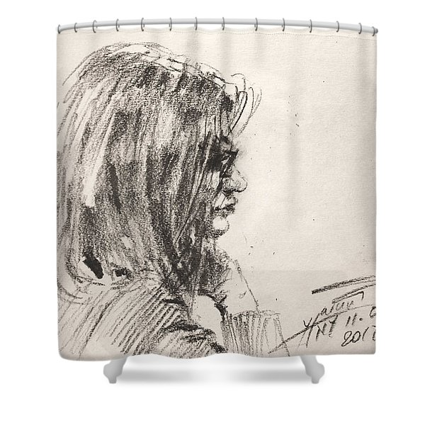 Ledy Shower Curtain