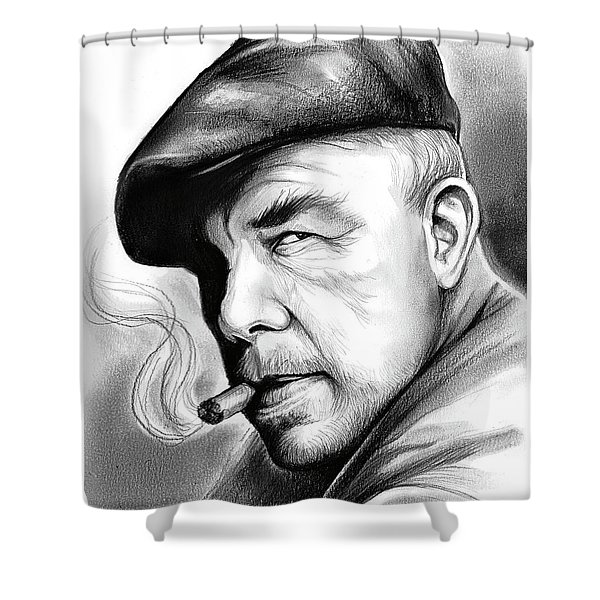 Lee Marvin Shower Curtain