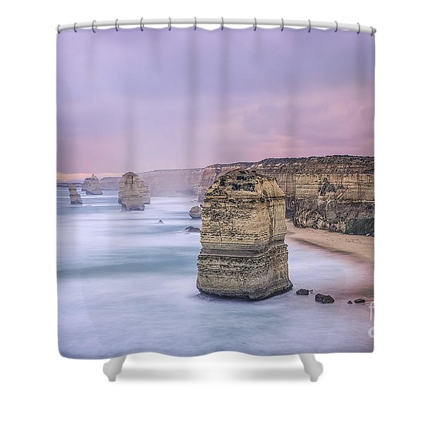 Left In A Dream Shower Curtain