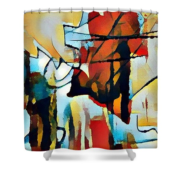 Left To Die Upon The Ground Shower Curtain