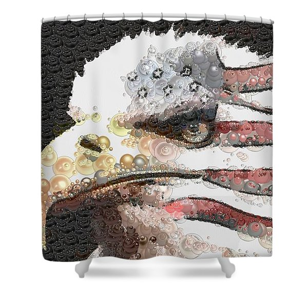 Legally Unlimited Eagle Shower Curtain