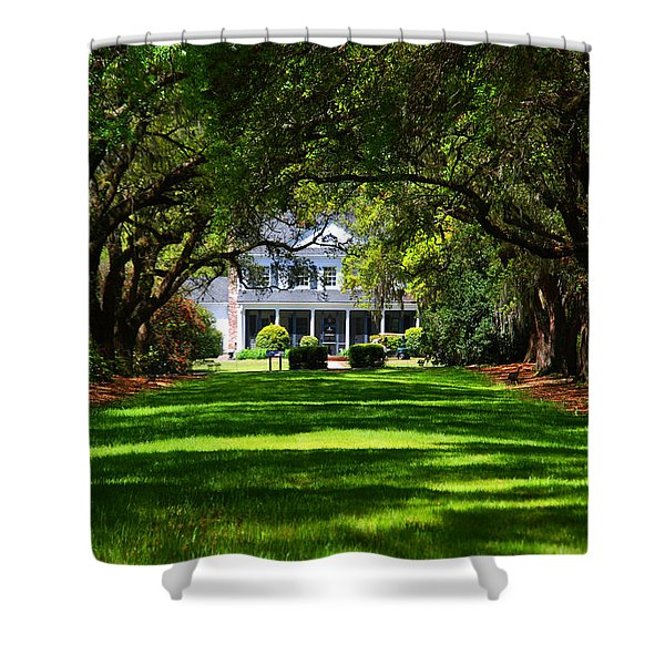 Legare Waring House Charleston Sc Shower Curtain