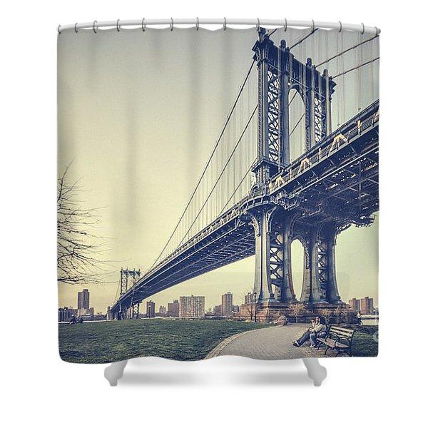 Legend Of Steel Shower Curtain