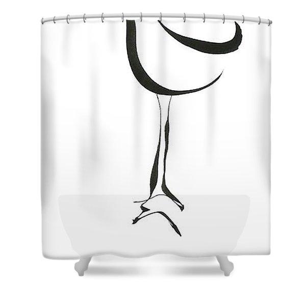 Leggy Shower Curtain