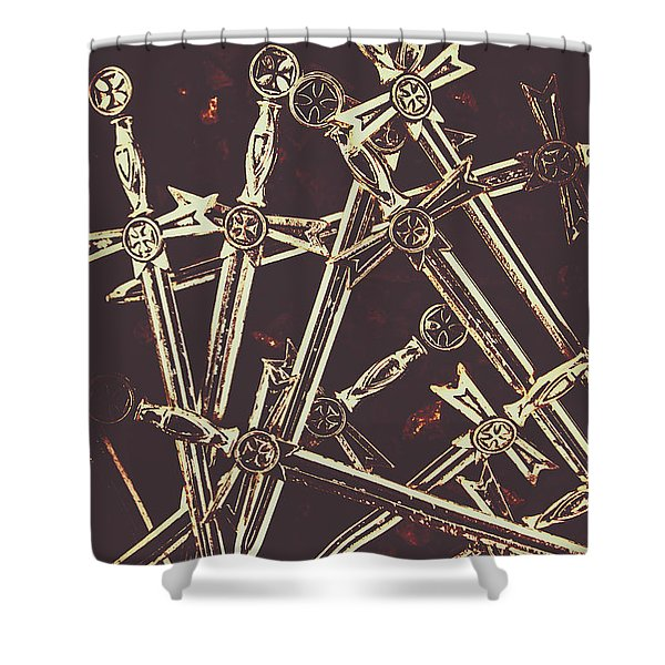 Legion Of Arms Shower Curtain