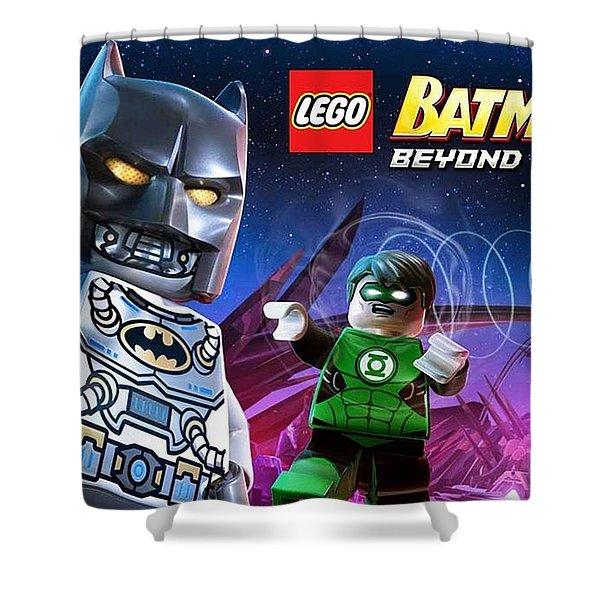 Lego Batman 3 Beyond Gotham Shower Curtain
