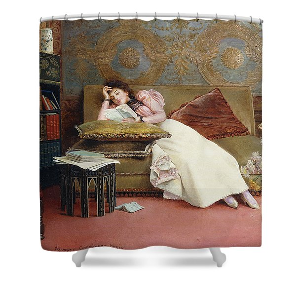 Leisure Hours Shower Curtain