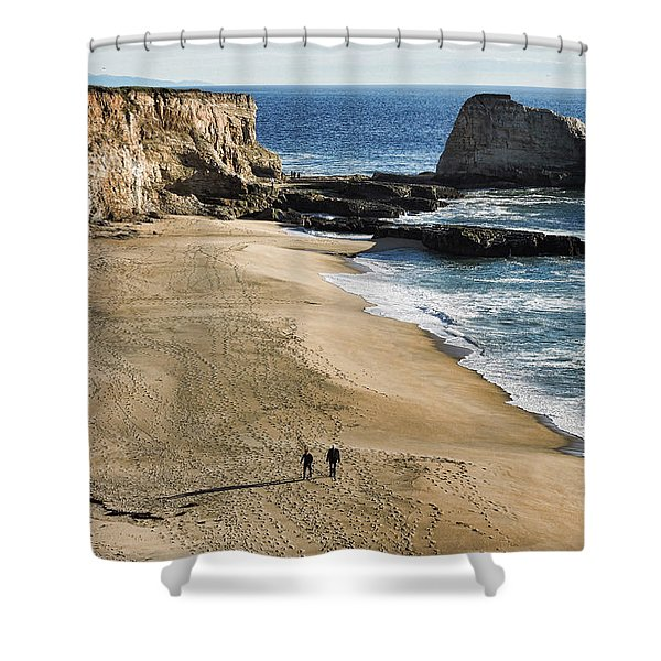 Leisurely Stroll Shower Curtain