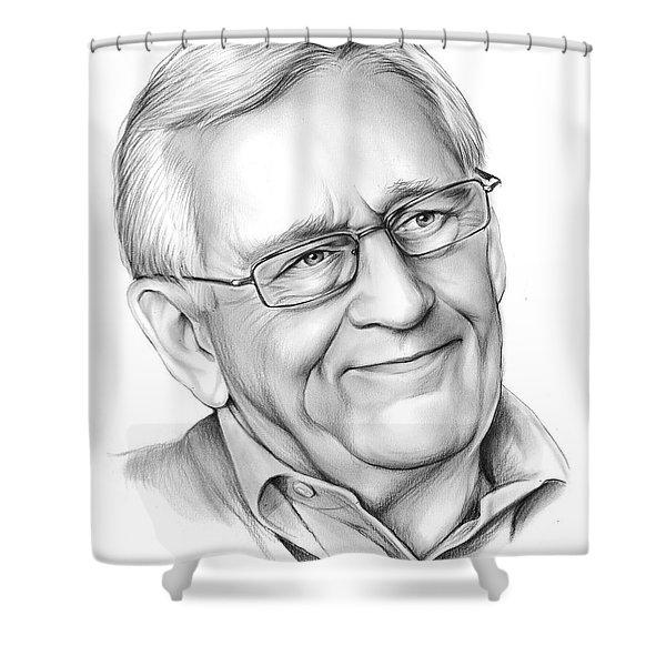 Len Cariou Shower Curtain