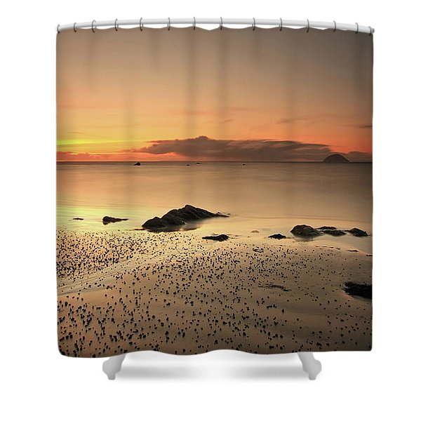 Lendalfoot Sunset Ref8962 Shower Curtain