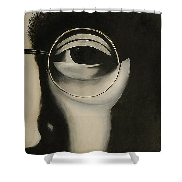 Lennon's Left Eye Shower Curtain
