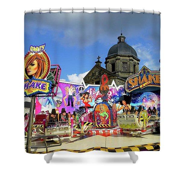 Lenten Carnival Shower Curtain