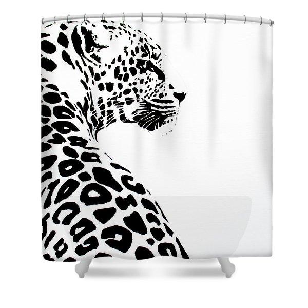Leo-pard Shower Curtain