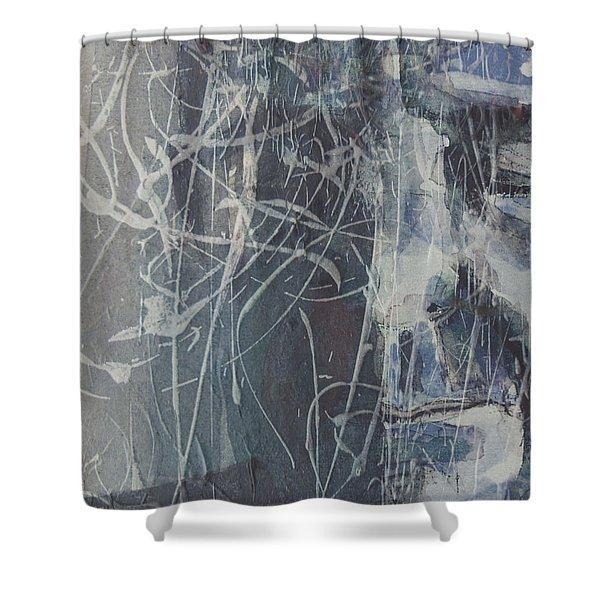 Leonard Cohen Shower Curtain