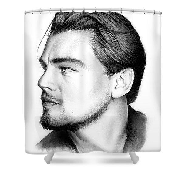 Leonardo Dicaprio Shower Curtain