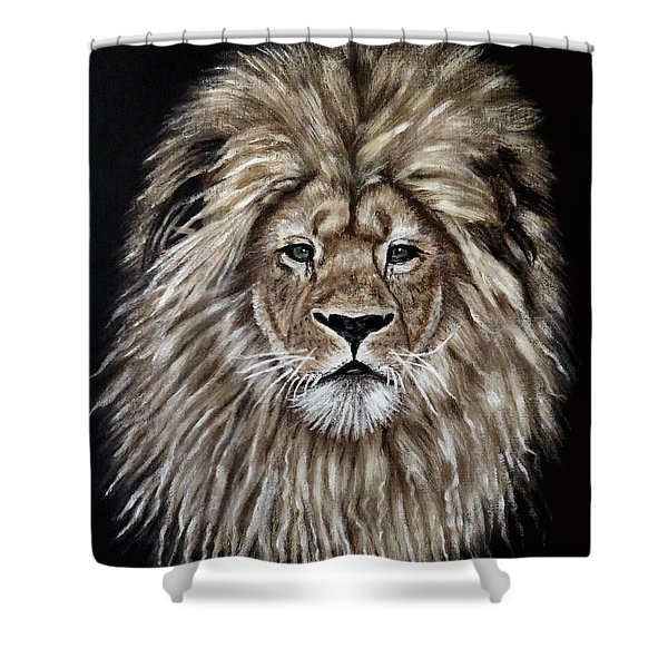 Leonardo Shower Curtain