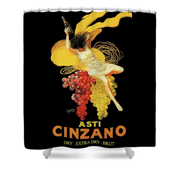 Leonetto Cappiello - Asti Cinzano Shower Curtain