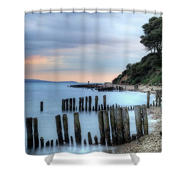 Lepe - Hampshire Shower Curtain