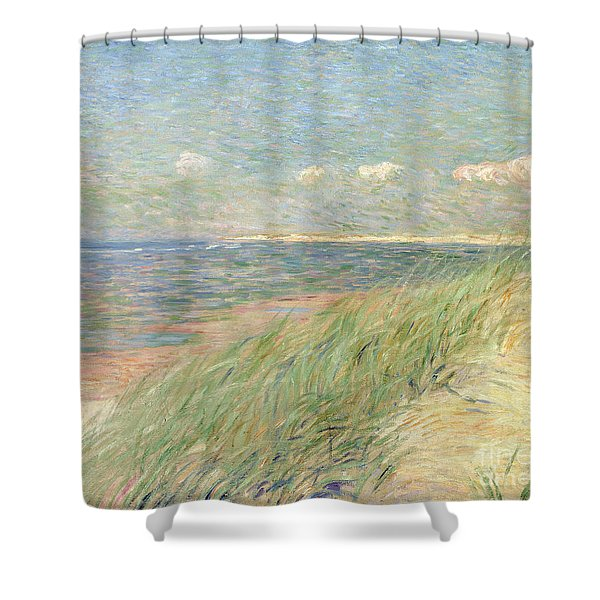 Les Dunes Du Zwin Knokke Shower Curtain